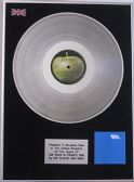 X Plastic Ono Band(John Lennon)-Platinum Disc LP - Live Peace In Toronto 1969